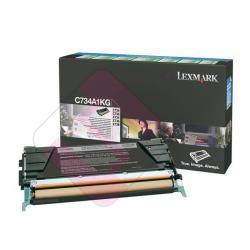 LEXMARK TONER LASER NEGRO 8.000 PAGINAS PACK 1 RETORNABLE C/