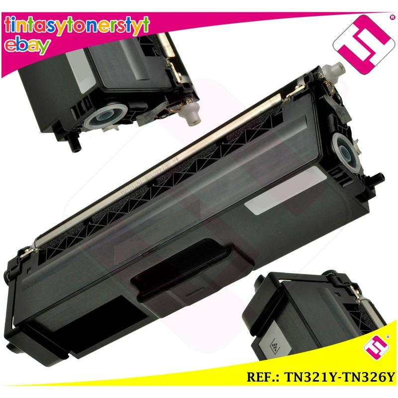 TONER AMARILLO TN321Y TN326Y ALTERNATIVO IMPRESORAS NONOEMBROTHER TN-321Y-326Y