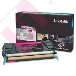 LEXMARK TONER LASER MAGENTA 10.000 PGINAS RETORNABLE X/748D