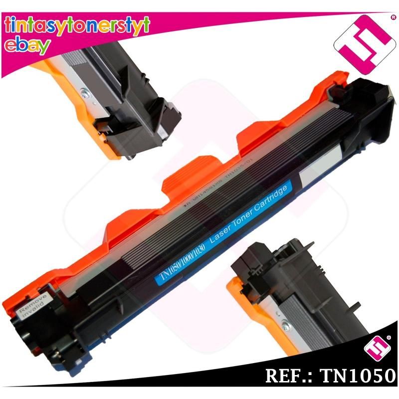 TONER NEGRO TN1050 COMPATIBLE PARA IMPRESORAS NONOEM BROTHER