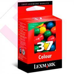 LEXMARK CARTUCHO INYECCION TINTA COLOR N37 150 PGINAS/4650