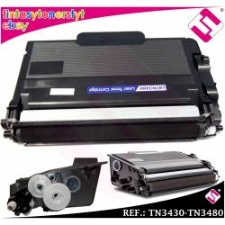 TONER NEGRO TN3430 TN3480 COMPATIBLE PARA IMPRESORAS NONOEM BROTHER