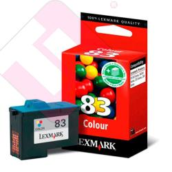 LEXMARK CARTUCHO INYECCION TINTA COLOR N83 COLORJETPRINTER