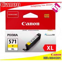 CANON CARTUCHO TINTA AMARILLO ALTO RENDIMIENTO CLI571Y 680P