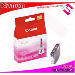 CANON CARGA INYECCION TINTA MAGENTA CLI-8M IX/4000/5000 PRO/