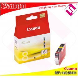 CANON CARGA INYECCION TINTA AMARILLO CLI-8Y IX/4000/5000 PRO