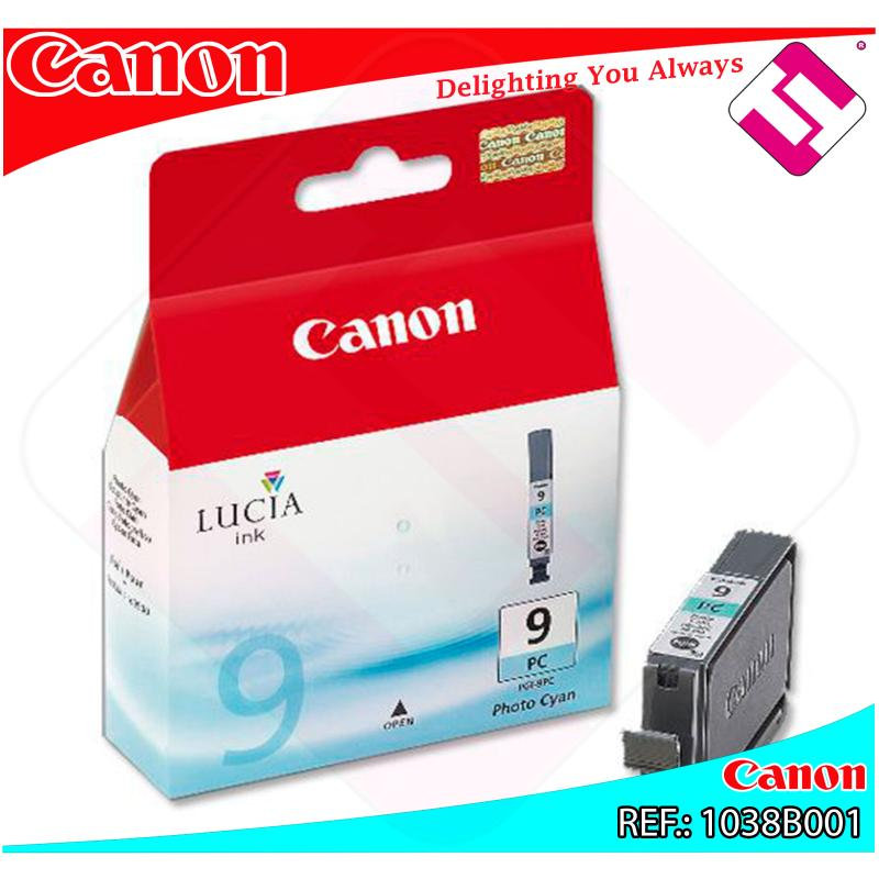 CANON CARGA INYECCION TINTA FOTO CIN PGI-9PC PIXMA PRO/9500