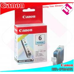 CANON CARGA INYECCION TINTA FOTO CIAN BCI-6PC 13ML S-/800/82