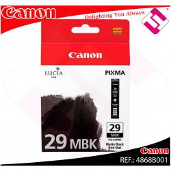 CANON CARTUCHO INYECCION TINTA NEGRO MATE PGI-29 MBK PIXMA/P