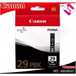 CANON CARTUCHO INYECCION TINTA NEGRO FOTO PGI-29 PBK PIXMA/P