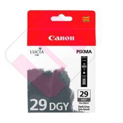 CANON CARTUCHO INYECCION TINTA GRIS OSCURO PGI-29 DGY PIXMA/