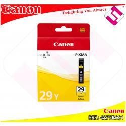 CANON CARTUCHO INYECCION TINTA AMARILLO PGI-29 Y PIXMA/PRO-1