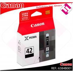 CANON CARTUCHO INYECCION DE TINTA NEGRO CLI-42BK 14ML