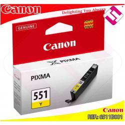 CANON CARTUCHO INYECCION TINTA AMARILLO CLI-551 7ML MG/5450