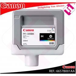 CANON CARTUCHO INYECCION TINTA NEGRO PFI-306 330ML IPF/8300/