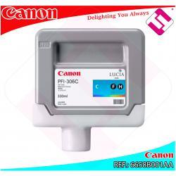 CANON CARTUCHO INYECCION TINTA CIAN PFI-306 330ML IPF/8300/6