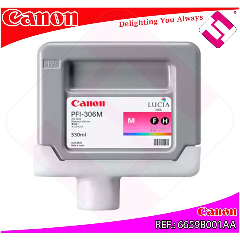 CANON CARTUCHO INYECCION TINTA MAGENTA PFI-306 330ML IPF/830