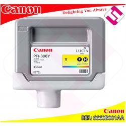 CANON CARTUCHO TINTA AMARILLO PFI-306 330ML IPF/8300/6400/