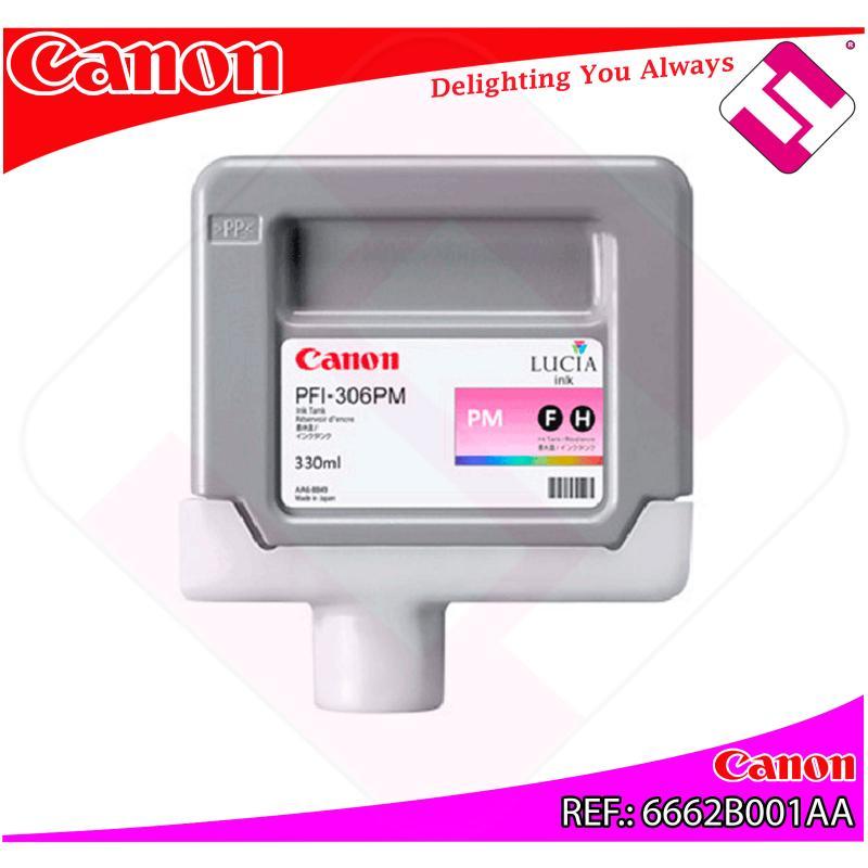CANON CARTUCHO INYECCION DE TINTA FOTO MAGENTA PFI-306 330ML