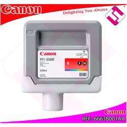CANON CARTUCHO INYECCION TINTA ROJO PFI-306 330ML IPF/8300/6