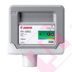 CANON CARTUCHO INYECCION TINTA VERDE PFI-306 330ML IPF/8300/