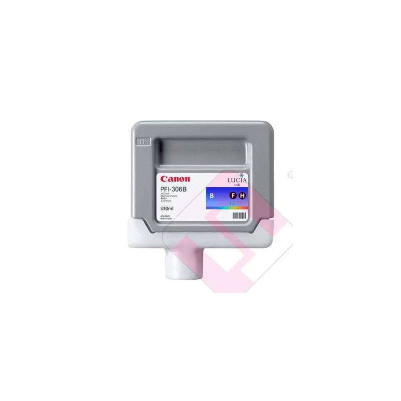 CANON CARTUCHO INYECCION TINTA AZUL PFI-306 330ML IPF/8300/6