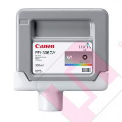 CANON CARTUCHO INYECCION TINTA GRIS PFI-306 330ML IPF/8300/6