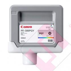 CANON CARTUCHO INYECCION TINTA GRIS FOTO PFI-306 330ML IPF/8