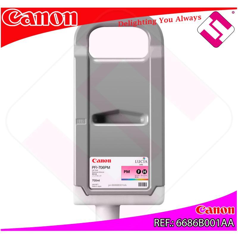 CANON CARTUCHO INYECCION TINTA FOTO MAGENTA PFI-706 700ML IP