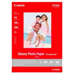 CANON PAPEL FOTOGRAFICOGP-501 A4 210MMX297MM SATINADO 100HOJ