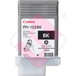 CANON CARTUCHO INYECCION TINTA NEGRO PFI-102BK 130ML LP/17/2