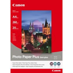 PAPEL CANON A4 FOTOGRAFICO 210MMX297MM 20HOJAS