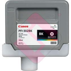 CANON CARTUCHO INYECCION TINTA NEGRO PFI-302BK 330ML/IPF9100