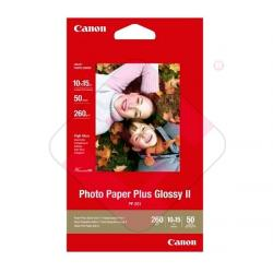 CANON PHOTO PAPER PLUS GLOSSY II PP201 10X15 50HOJAS 275GR