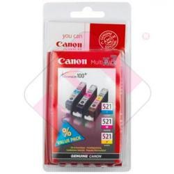 CANON CARTUCHO INYECCION TINTA TRICOLOR CLI-521 C/M/Y 30ML P