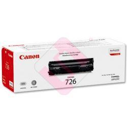 CANON TONER LASER NEGRO CRG726 2.100 PAGINAS LBP/6200