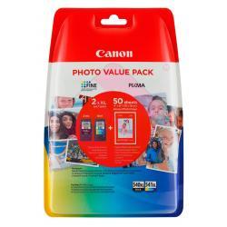 CANON PHOTO VALUE PACK PG540XL/CL541XL PHOTO PAPER 4X6 GP501