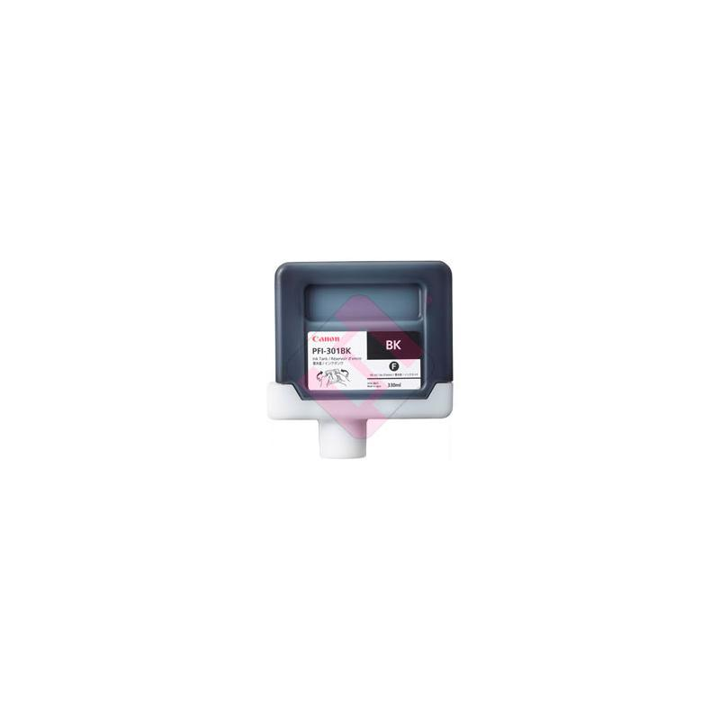 CANON CARTUCHO INYECCION TINTA NEGRO PFI-301BK 330ML IPF/800