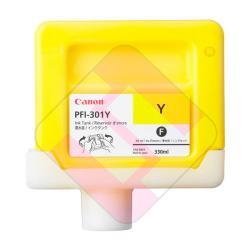 CANON CARTUCHO INYECCION TINTA AMARILLO PFI301Y 330ML IPF/80