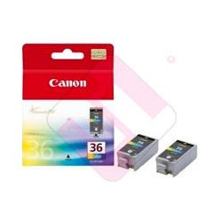 CANON CARTUCHO INYECCION TINTA COLOR CLI-36 TWIN PACK PACK 2