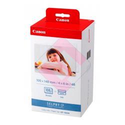 CARGA PAPEL CANON CP100/200/220 10X15CM KP-108IN