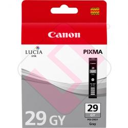 CANON CARTUCHO INYECCION TINTA GRIS PGI-29 GY PIXMA/PRO-1