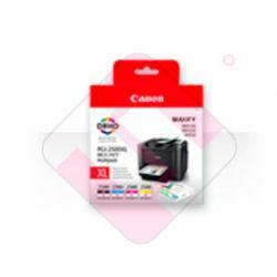 CANON TINTA PGI-2500XL PACK4 COLORES NEGRO/CIAN/MAGENTA/AMAR