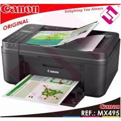 MULTIFUNCION IMPRESORA CANON PIXMA MX495 FAX WIFI A4 4800 X 1200 PPP USB ESCANER