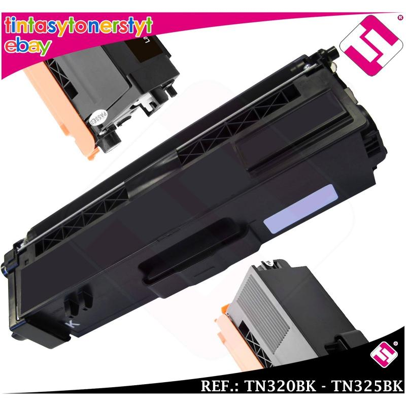 TONER NEGRO TN320BK TN325BK COMPATIBLE IMPRESORAS NONOEM BROTHER NO ORIGINAL