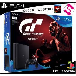 VIDEOCONSOLA SONY PS4 PLAYSTATION 4 1TB SLIM GRAN TURISMO GT SPORT PSVR GAMING