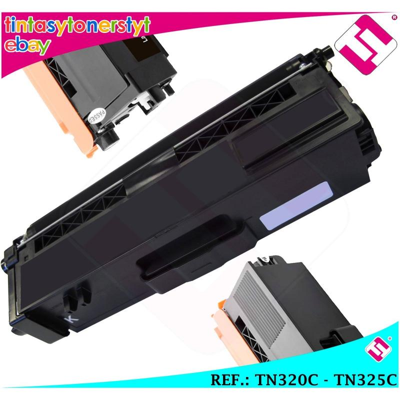TONER CYAN TN-320C TN-325C ALTERNATIVO IMPRESORAS NONOEMBROTHER NO ORIGINAL