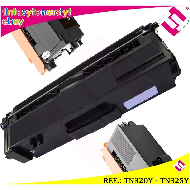 TONER AMARILLO TN320Y TN325Y COMPATIBLE IMPRESORAS NONOEM BROTHER NO ORIGINAL