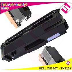 TONER AMARILLO TN-320Y TN-325Y ALTERNATIVO IMPRESORAS NONOEMBROTHER NO ORIGINAL