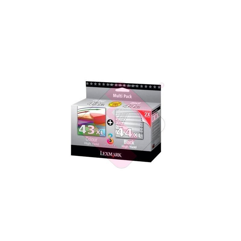LEXMARK CARTUCHO INYECCION TINTA COLOR N43+44 SERIES Z/1520